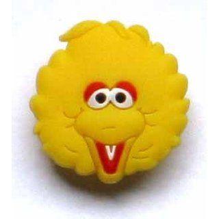 Big Bird in Sesame Street Jibbitz Crocs Hole Bracelet Shoe