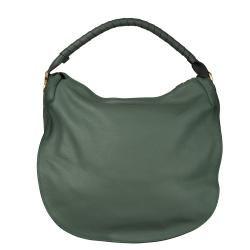 Chloe Marcie Green Italian Leather Hobo Bag
