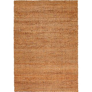 Natural Fiber Natural Rectangle Jute Rug 9 x 12
