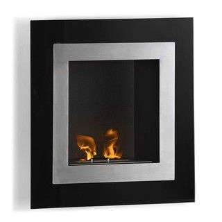 Estrella Wall Mount Ethanol Fuel Fireplace