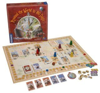 Around the World in 80 Days Toys & Games