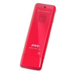 SYBA JWD Digital Voice Recorder [OEM] SY AUD62027, Red