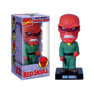 Captain America Red Skull Bobble Head