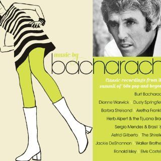 Music By Bacharach Various Artists, Dionne Warwick, The