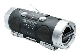 Coby CX CD282 Portable CD/Radio/Cassette Player MP3
