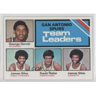 James Silas TL San Antonio Spurs (Basketball Card) 1975 76 Topps #284