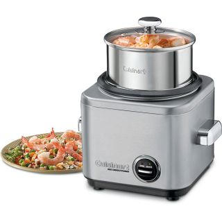 Cuisinart CRC 400FR Stainless Steel 4 cup Rice Cooker (Refurbished
