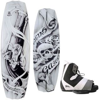 Gator Gonzalez Wakeboard 143/ Team Bindings