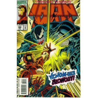 Iron Man #302  Featuring Venom in Oil and Gold (Marvel Comics) Len