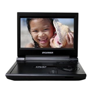 Sylvania SDVD9000B2 9 inch Portable Black DVD Player (Refurbished