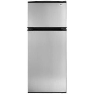Whirlpool 18 cubic foot Stainless Steel Top Mount Refrigerator