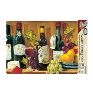 Flex Mat Flexible Fruit and Wine Cutting Board