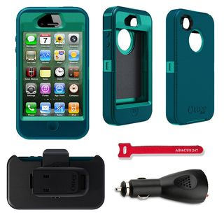 OtterBox Defender Apple iPhone 4/4S Protector Case / Car Charger