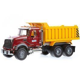 Mack Granite Dump Truck by Bruder Trucks Toys & Games