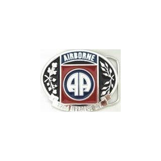 U.S. 82nd AIRBORNE MILITARY BELT BUCKLE CLIP CLASP