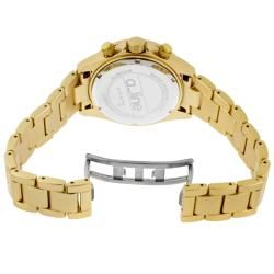 line Womens Amore Goldtone Aluminum Watch