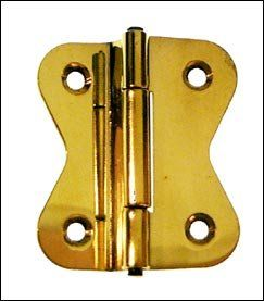 Hoosier Cabinet Hinge Style D   1 3/4   Polished Nickel