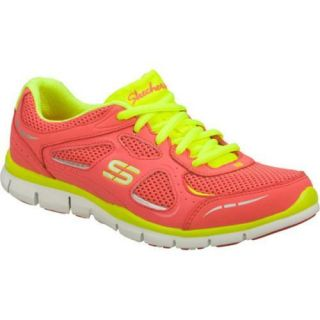 Womens Skechers Gratis Threshold Pink/Yellow