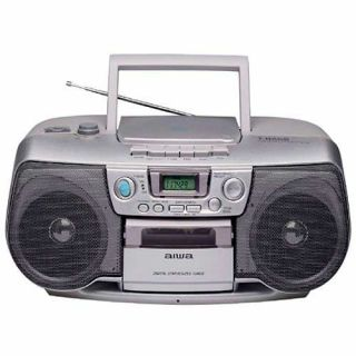 Aiwa CSD TD902 Portable CD/Cassette Boom Box (Refurbished)