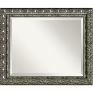Barcelona Pewter Medium Wall Mirror