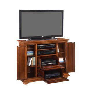 Homestead Distressed Warm Oak Compact TV Credenza