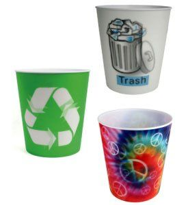 Cool Bedroom Trash Can Tie Dye Home & Kitchen