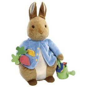 Large Activity Peter Rabbit Doll Toy Toys & Games