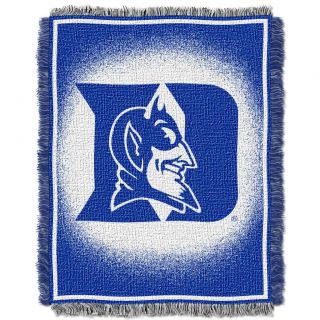 Northwest Duke Blue Devils Focus Jacquard Throw
