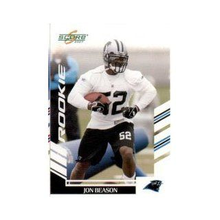 2007 Score #324 Jon Beason RC Collectibles