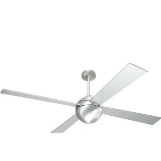 Modern Fan BAL BA, Ball Brushed Aluminum Energy Star 52