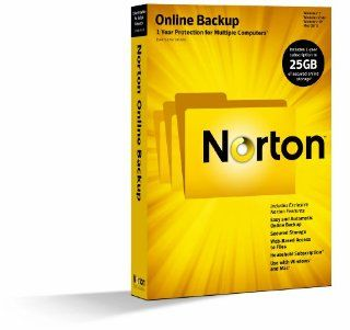 Norton Online Backup 2.0   1 User / 25GB Software