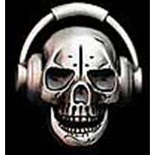 Skull Head Phone Antique Finishing Plain Belt Buckle for Men Iced Out