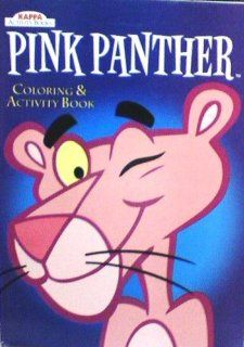 Pink Panther Coloring and Activity Book (9781559933537