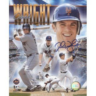David Wright Autographed New York Mets (Collage) 8x10
