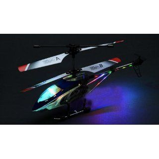 BEGINNERS 32CM METAL 3Ch Micro RC Remote Control 333 Helicopter w/Gyro