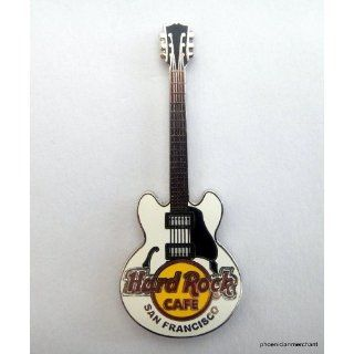 Core Guitar Series White Gibson ES 335 Hard Rock Cafe San Francisco At