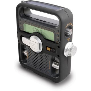 Eton NFR500B Black Solarlink AM/FM Shortwave Radio