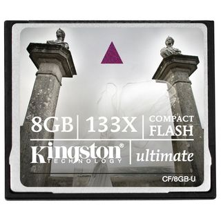 Kingston 8GB Ultimate Compact Flash 133X Memory Card