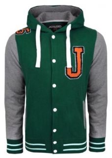 Jack and Jones College Jacke Declan Sweat Jacket, grün