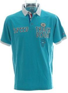 JACKY ICKX® Poloshirt Pikee Polo T Shirt  Speed Track Dijon