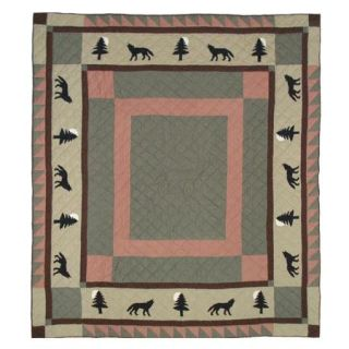 Patch Magic Wolf Trail Twin Quilt