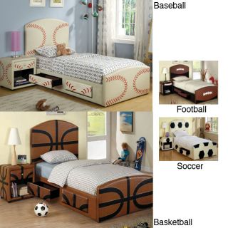 Rookie Multi Storage 2 Piece Junior Twin Bedroom Set