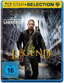 Am Legend [Blu ray] Will Smith, Alice Braga, Thomas J