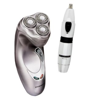 Remington MicroFlex 600 Rotary Shaver and Ear/ Nose Trimmer