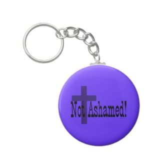 Christian ART by XTOLZ Not Ashamed! Romans 116 (with Cross)