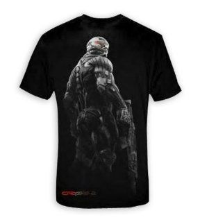 Crysis 2 T shirt Grey & red   T Shirt Gr. XL Sport