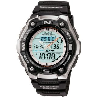 Casio Mens Heavy duty Fishing Timer Watch