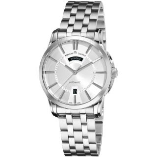 Maurice Lacroix Mens Pontos Stainless Steel Bracelet Watch