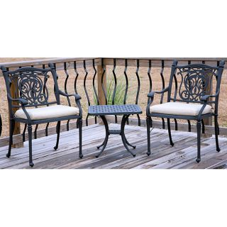 Tuscan 3 piece All welded Chat Group Patio Set