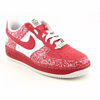 Nike Youth Kids Boys Varsity Red Air Force 1 Shoes (Size 7
